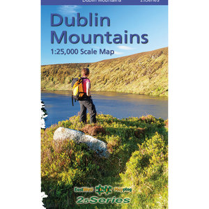 EastWest Mapping Dublin Mountains 1:25000 Paper adventure.ie