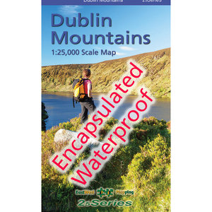 EastWest Mapping Dublin Mountains 1:25000 Encapsulated adventure.ie