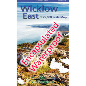 EastWest Mapping Wicklow East 1:25000 Encapsulated