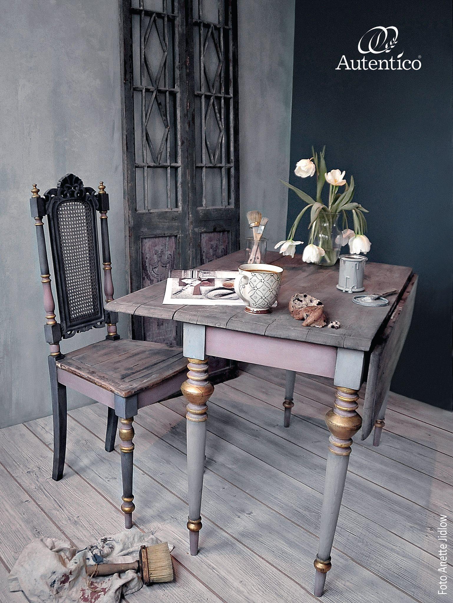 Venice kalkverf op meubels