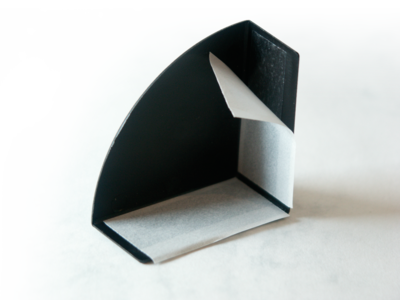 coins de protection avec adhesive - 3 faces