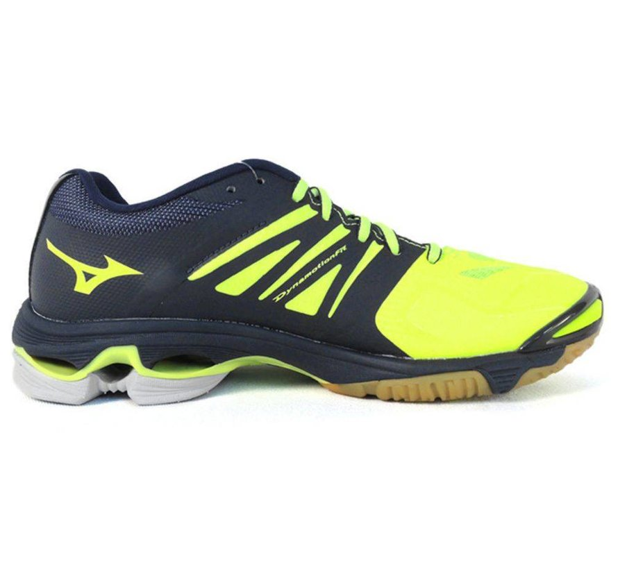 Mizuno Wave Lightning Z2 geel volleybalschoenen heren (V1GA160044)