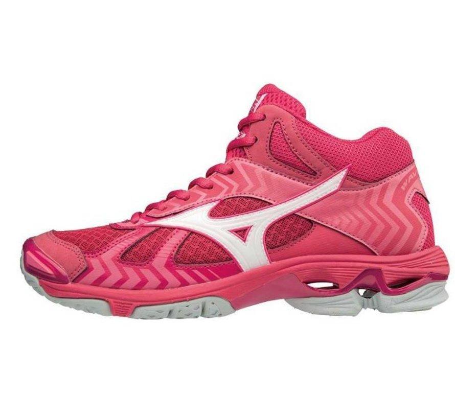 Mizuno Wave Bolt 7 Mid roze volleybalschoenen dames