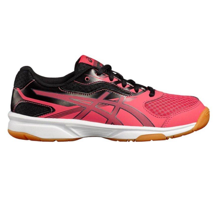 ASICS Gel Upcourt 2 GS roze blauw volleybalschoenen meisjes