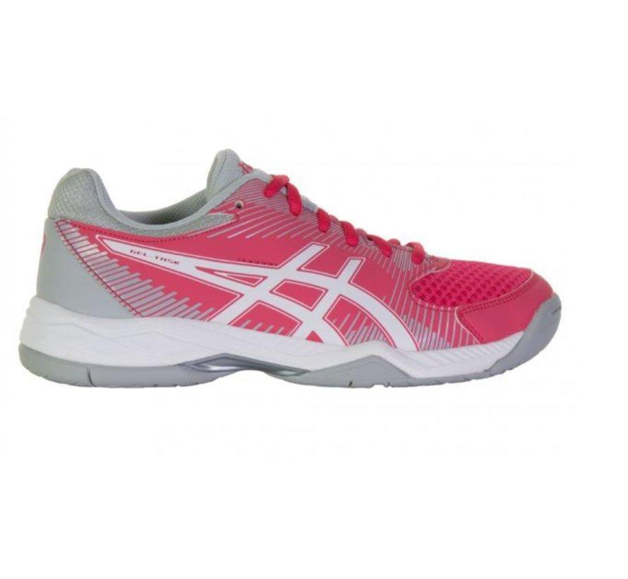 ASICS Gel Task roze grijs volleybalschoenen dames