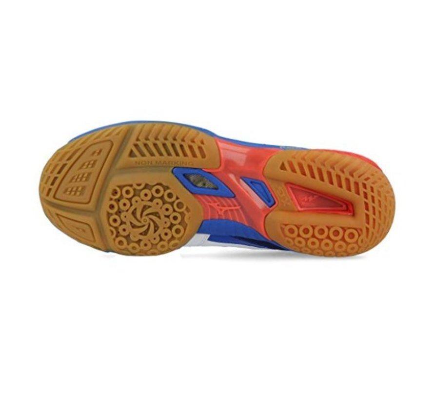 Mizuno Wave Fang SL wit blauw badmintonschoenen heren