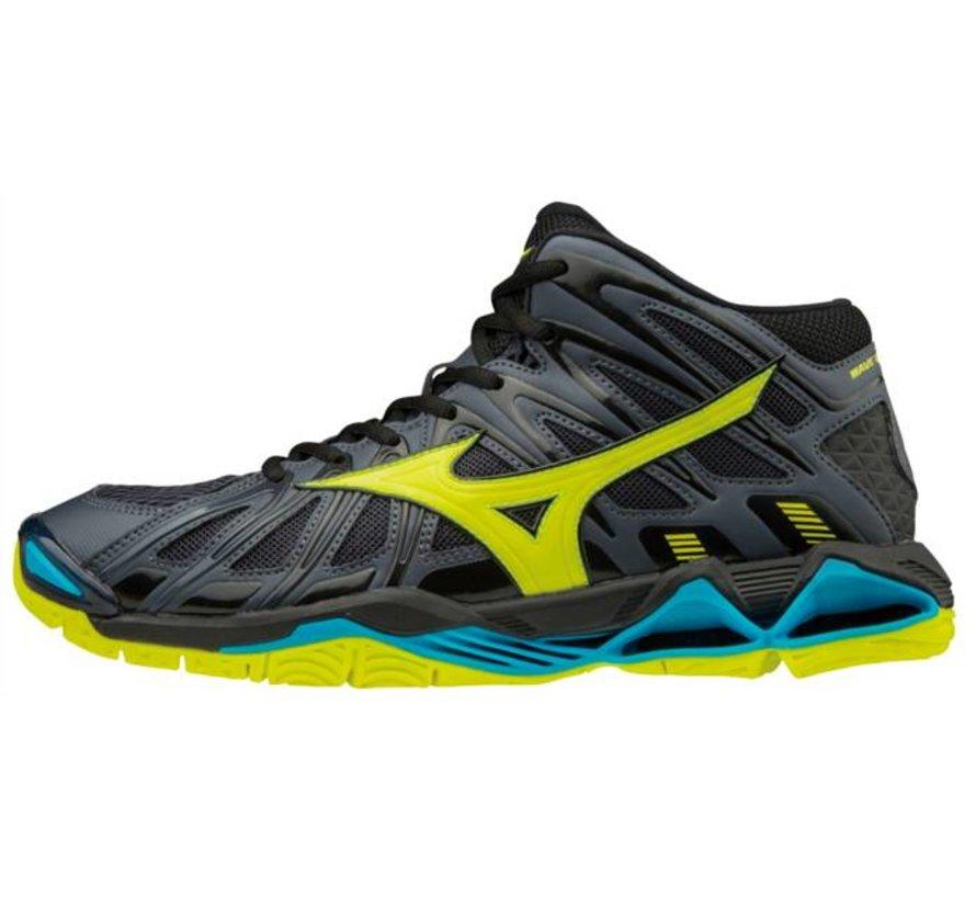 Mizuno Wave Tornado X2 Mid geel volleybalschoenen heren