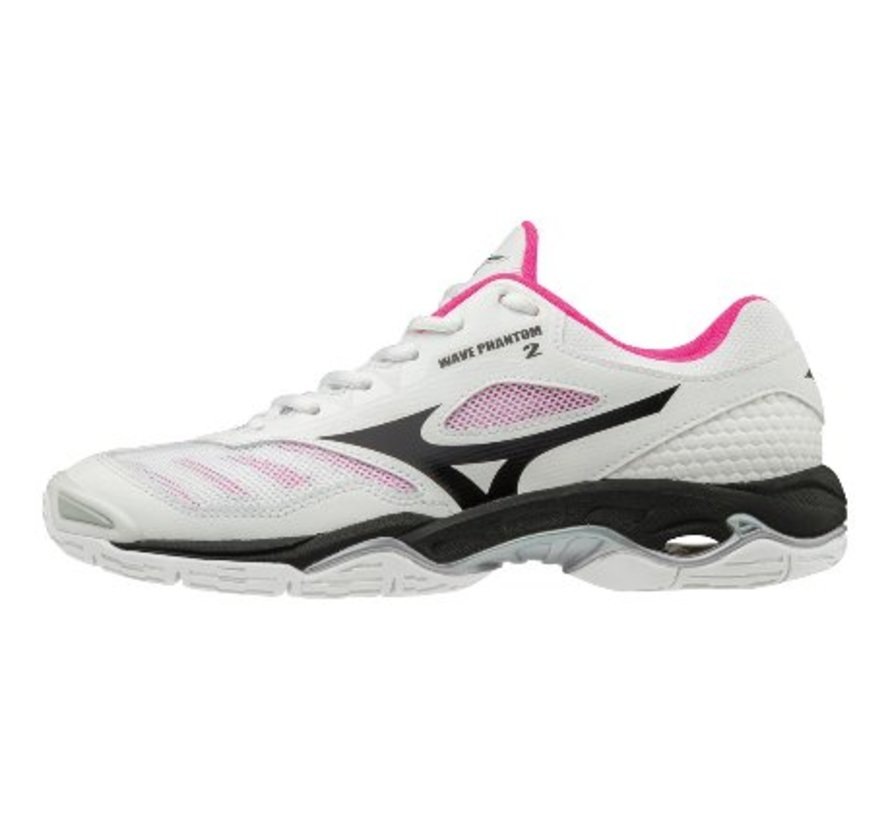 Mizuno Wave Phantom 2 wit handbalschoenen dames