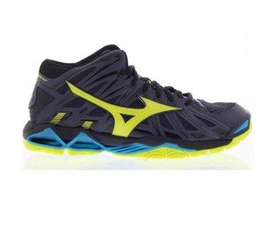 Mizuno Mizuno Wave Tornado X2 Mid geel volleybalschoenen heren