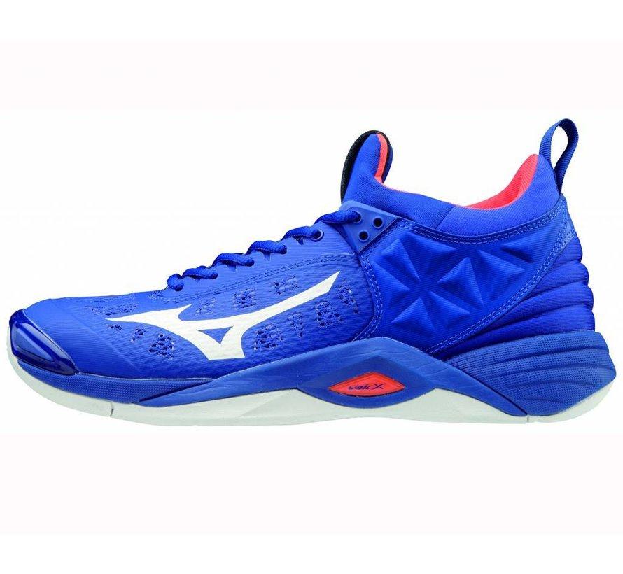 Mizuno Wave Momentum blauw volleybalschoenen heren