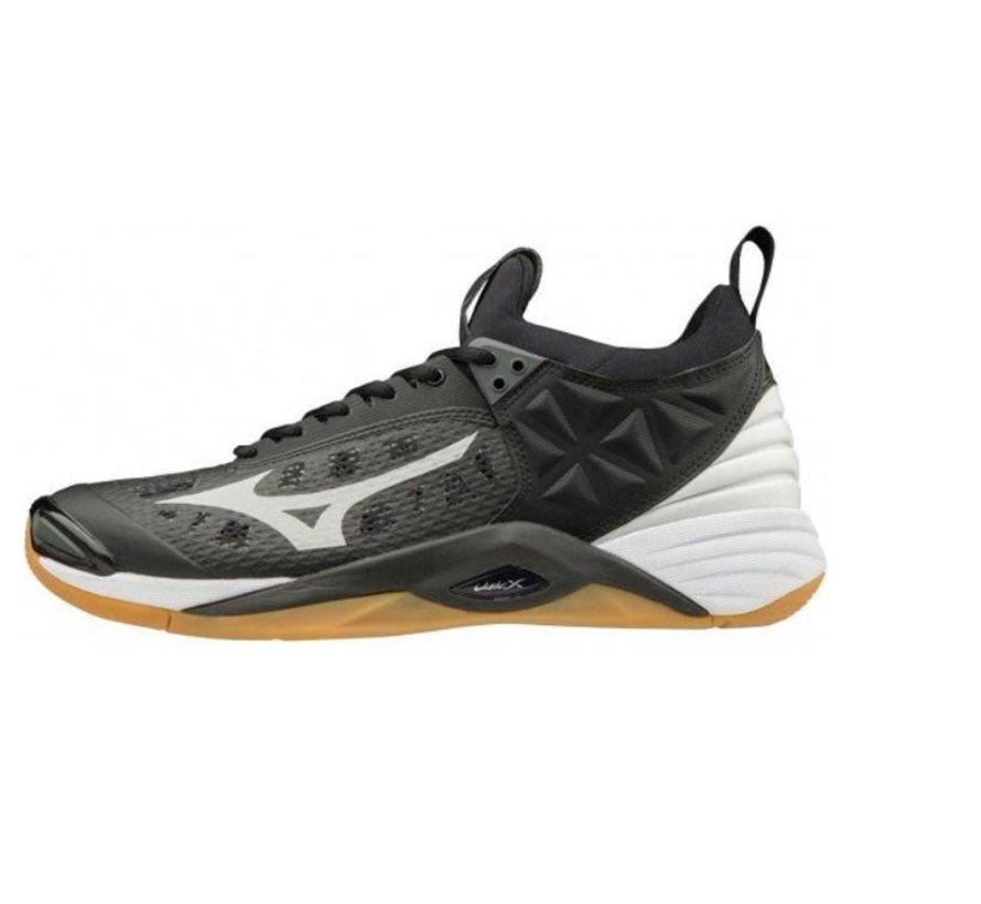 Mizuno Wave Momentum zwart indoor schoenen heren