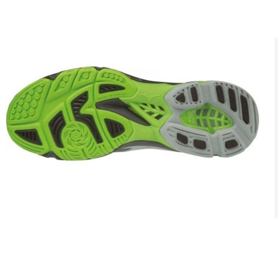 Mizuno Wave Lightning Z5 zwart groen volleybalschoenen unisex