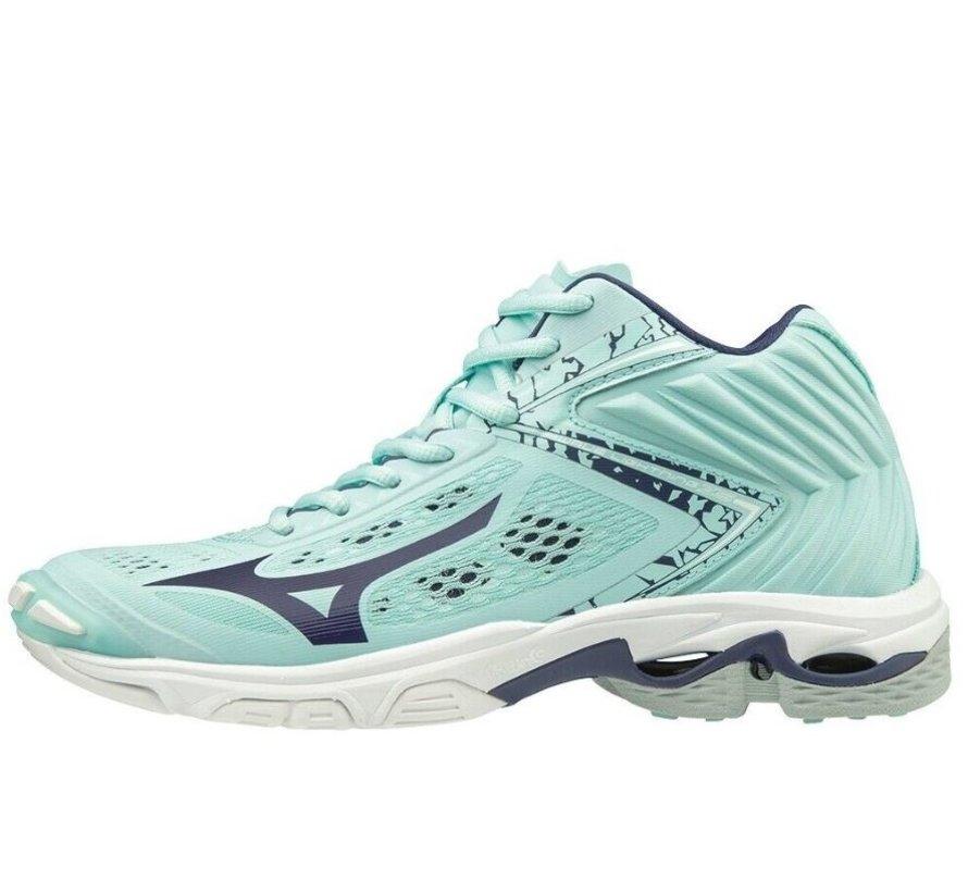 Mizuno Wave Lightning Z5 Mid lichtblauw volleybalschoenen dames