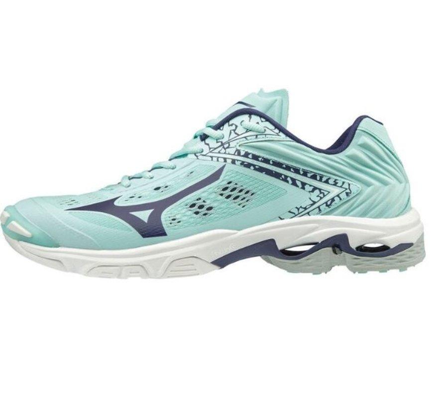 Mizuno Wave Lightning Z5 lichtblauw volleybalschoenen dames