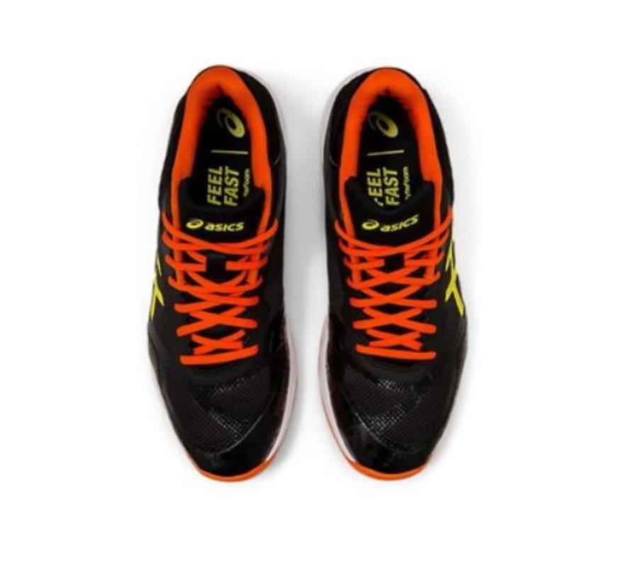 ASICS Gel Netburner Ballistic FF MT zwart oranje volleybalschoenen heren