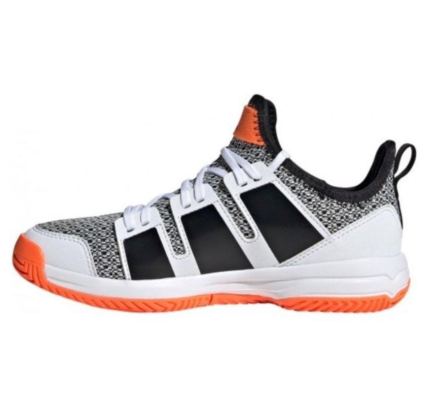 Adidas Stabil Jr wit zwart indoor handbalschoenen kids