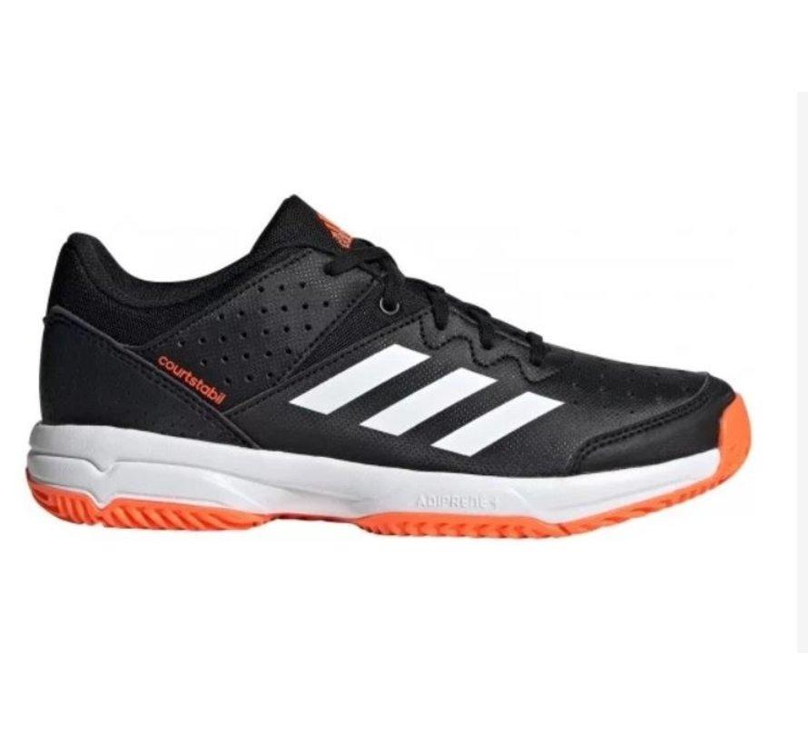 Adidas Court Stabil Jr zwart indoor handbalschoenen kids