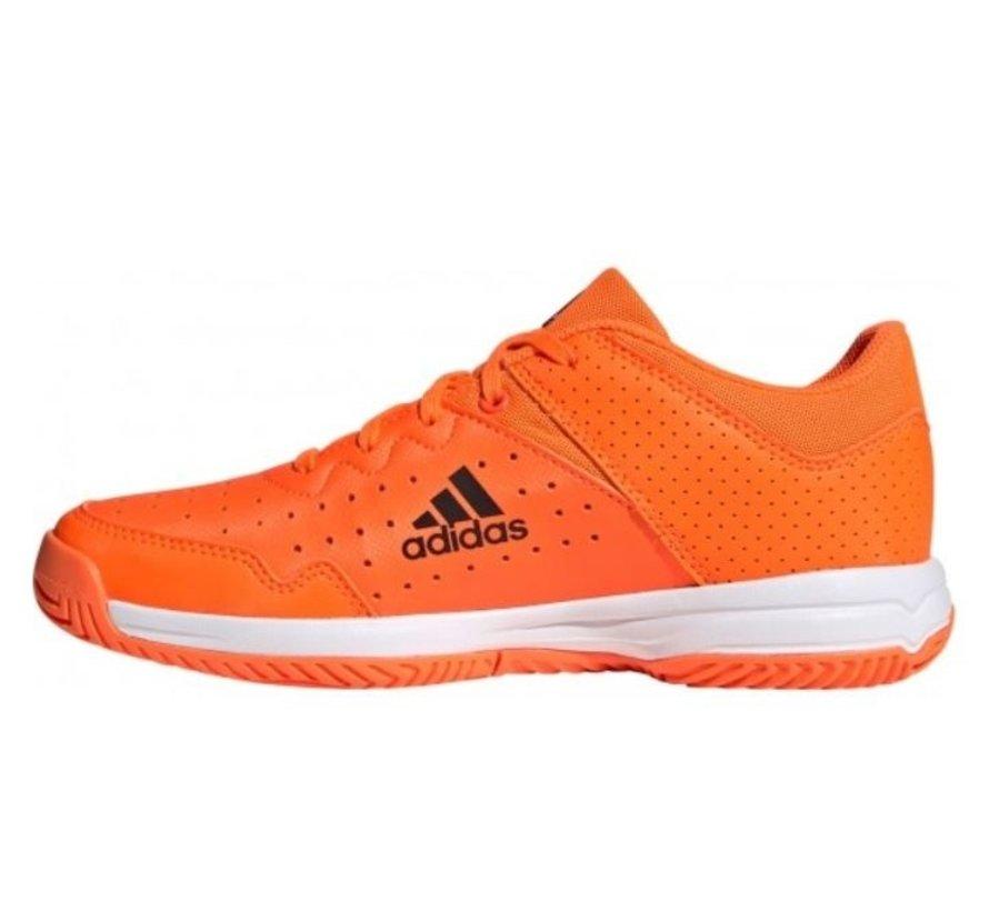 AdidasCourt Stabil Jr oranje indoor handbalschoenen kids
