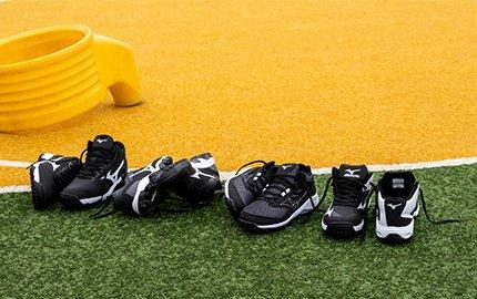 Nieuwe collectie Mizuno outdoor korfbalschoenen