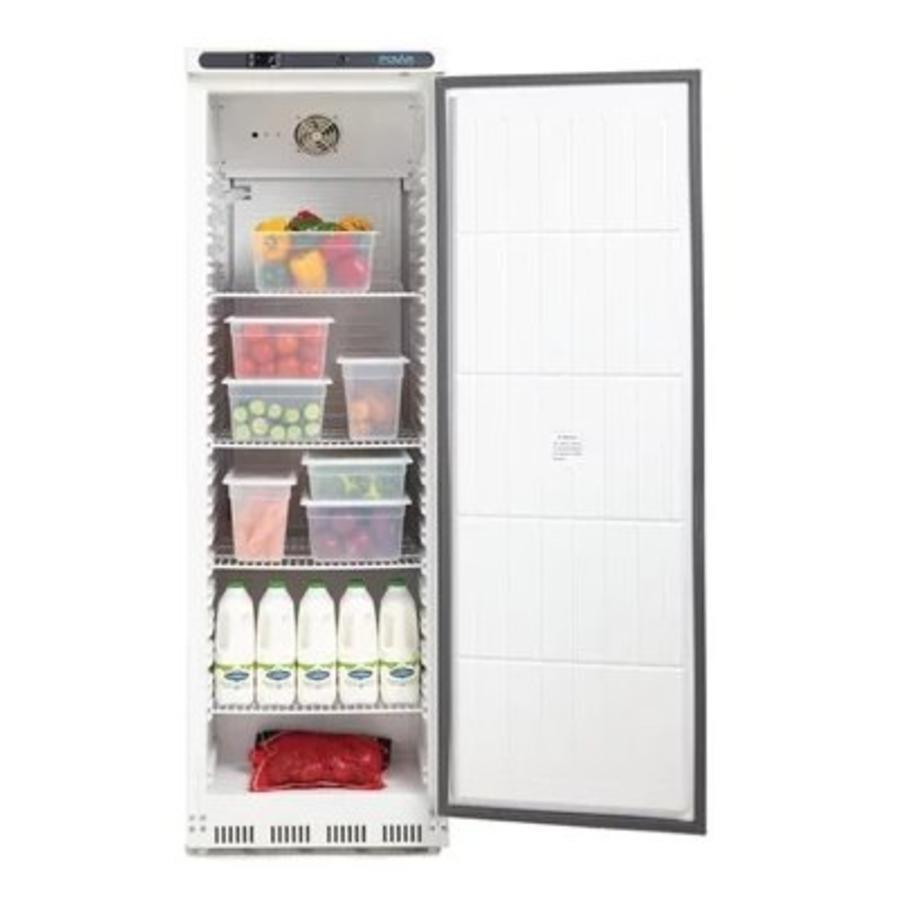 Armoire réfrigérée positive 1 porte blanche 400L