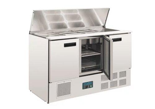 Polar Comptoir réfrigéré à salades   368L