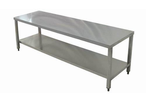 Combisteel Chassis - Table | en inox | 80x60x176(h)