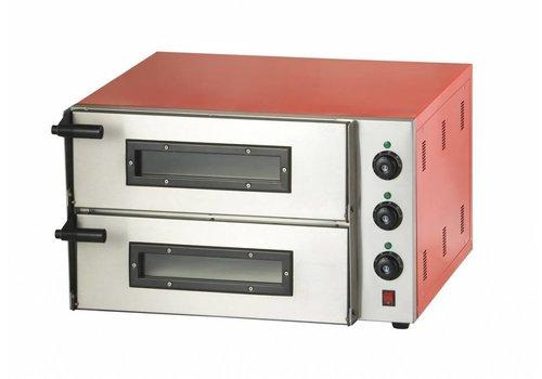 Combisteel Double four à pizza 3000 watts 2 pizzas