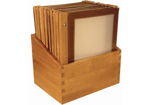 Securit Boîte à menus | marron