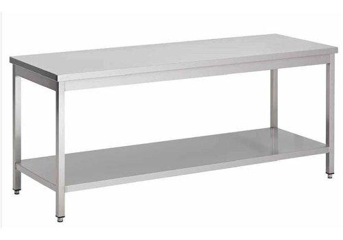 ProChef Table de travail   inox   démontable   100 x 85 x 60 cm