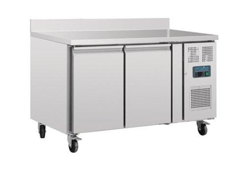 Polar Table réfrigérée | 2 Portes avec dosseret | 282L