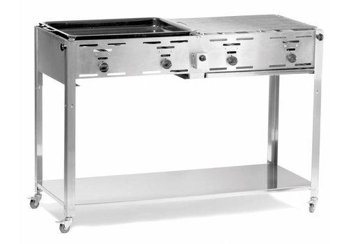 Hendi Barbecue | Gaz | Châssis et Roues