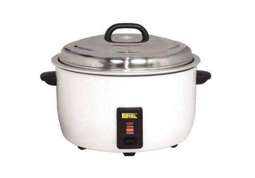 Buffalo Cuiseur à riz Buffalo Professional 2950 Watt 23 litres   48,5 (H) x 55 (L) x 39,5 (D) cm
