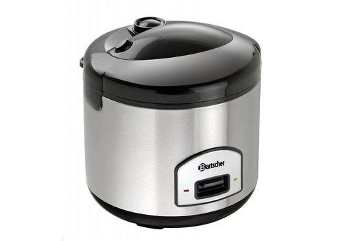 Bartscher Cuiseur à riz Acier inoxydable 700 Watt 1,8 litres   285 x 280 mm