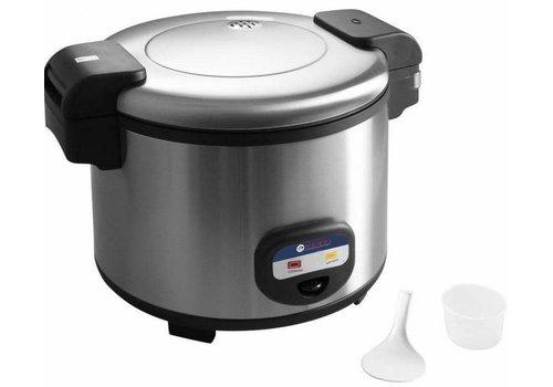 Hendi cuiseur à vapeur en acier inoxydable 1950 Watt 12 litres