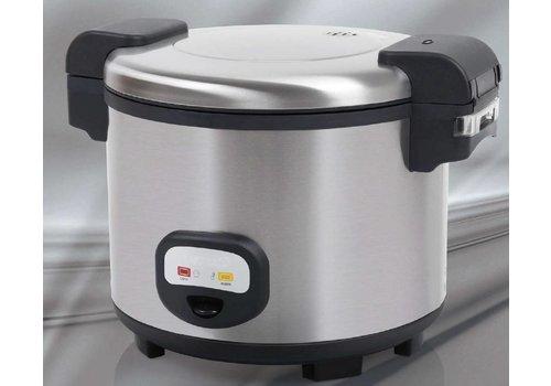 Saro Cuiseur à riz électrique   13 litres   L 480 x 400 x 335 mm