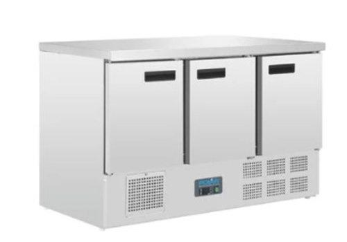 Polar Table réfrigérée   3 Portes   368L