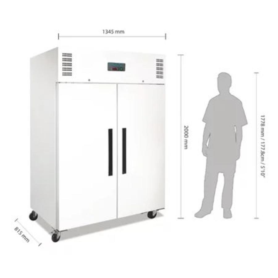 Armoire réfrigérée négative GN double porte 1200L