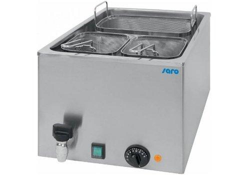 Saro Cuiseur à Pâtes Electrique   25 Litres   3 Paniers Incl.   260W   acier inoxydable