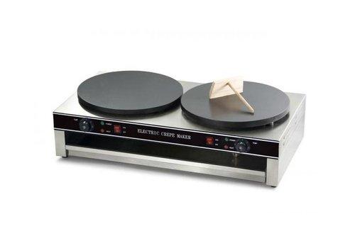 Combisteel Crepière Double | 2x Ø400mm | 6kW | 860x490x235(h)mm
