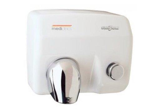 Mediclinics Mediclinics Sèche-mains Saniflow avec bouton de démarrage E88