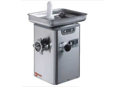 Diamond Hachoir à viande N°22 réfrigéré, monobloc inox | 310 x 350 x h615 mm | 1,1 kW