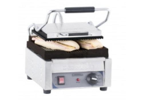 Casselin Grill Panini Petit Premium Rainurée - Rainurée | 2 000 W | L 300 x P 490 x H 265 mm | de 60°C à 300°C