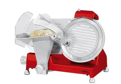 Casselin Trancheuse à jambon | 250 mm | Rouge | L 460 x P 450 x H 380 mm