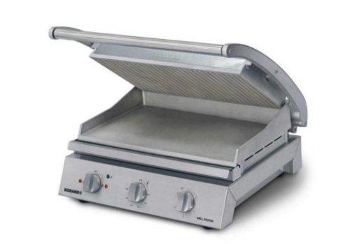 Roband Station de grillage pour 8 sandwiches, plaque superieur | 2 200 W | 560 x 490 x 220 mm