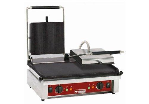 Diamond Contact-grill double, plaques émaillées   de 0 à 300°C
