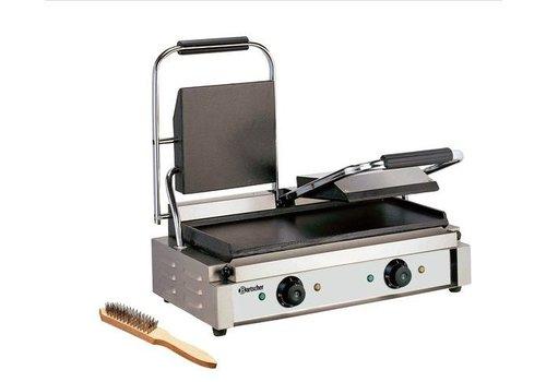 Bartscher Grill contact 3600 2G   570 x 395 x 210 mm   Acier inoxydable   3,6 kW