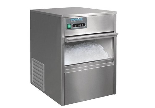 Polar Machine à glaçons | Dessous de comptoir | 20kg