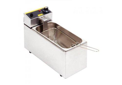 Buffalo Friteuse de comptoir simple Buffalo 3L | 300(H) x 180(L) x 400(P)mm | 2 kW | 40°C à 190°C