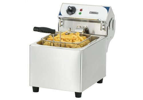 Casselin Friteuse électrique 7 litres | L 275 x P 450 x H 377 mm | 2800 W | 60°C à 200°C