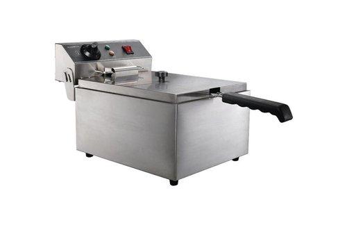 Combisteel Friteuse posable electrique 1X6 L | 290 x 440 x 290 mm